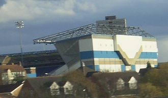 St Andrew's (stadium) - The all-seater Railway Stand was built in the 1990s.