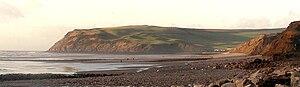 Coast to Coast Walk - Image: St Bees Head from Seamill
