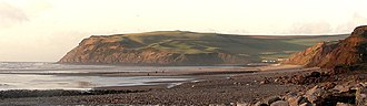 Coast to Coast Walk - Image: St Bees Head from Seamill