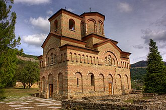 Second Bulgarian Empire - The Church of St Demetrius in Tarnovo, built by Asen and Peter in the beginning of the uprising