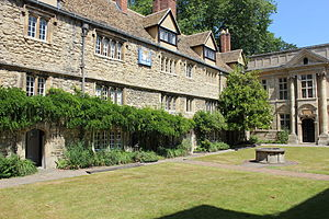 St Edmund Hall, Oxford - Image: St Edmund Hall, Oxford