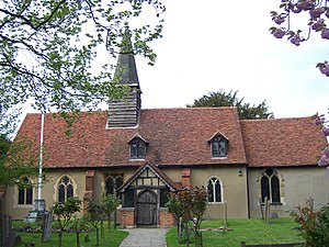 Ickenham - St Giles' church dates back to 1335.
