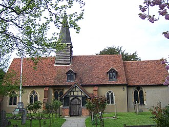 Ickenham - St Giles' church dates back to 1335.