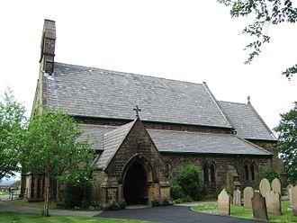 Wrightington - Image: St James the Great Church, Wrightington