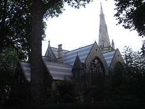 Shenton Thomas - St Jude's Church, Kensington, London, where Thomas married in 1912