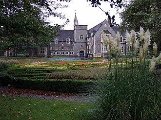 Joseph Clarke (architect) - Gloucester and Bristol Diocesan Training Institution, Fishponds, Gloucestershire: designed with John Norton, built 1852