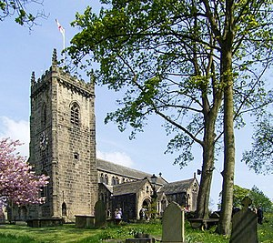 Maria Branwell - Branwell married Patrick Brontë at St. Oswald's Church, Guiseley.