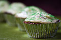 St Patty's Day cupcakes in a row.jpg
