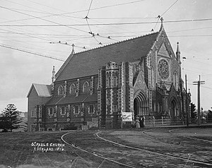 Vernon Reed - St Paul's Church in 1909