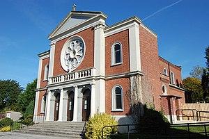 St Budeaux - Image: St Paul's RC Church, St Budeaux geograph.org.uk 718044