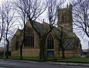 Swinton, Greater Manchester - St Peter's Church, Swinton