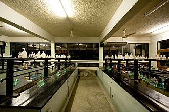 St Joseph Higher Secondary School, Dhaka - One of the chemistry labs