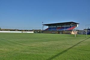 Stadionul Luceafărul - Image: Stadionul Luceafărul (1)