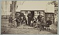 Staff officers at headquarters 6th Army Corps near Brandy Station, Va., 1864 LCCN2012649006.jpg