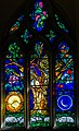 Stained glass window, St Peter's church, Firle, Sussex (16355892004).jpg