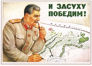 Great Plan for the Transformation of Nature Soviet agricultural and irrigation project