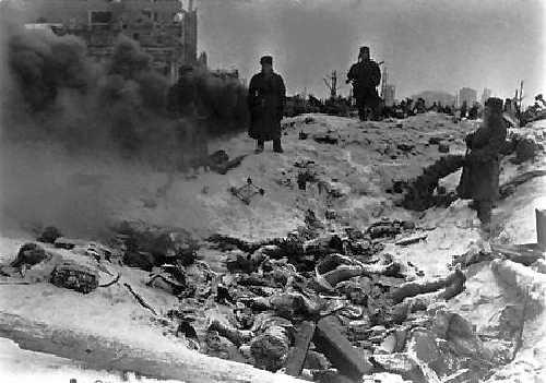 Stalingrad-dead bodies