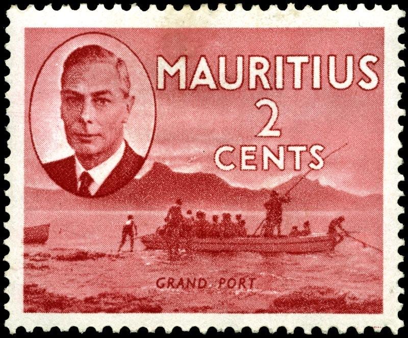 Stamp Mauritius 1950 2c