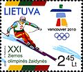 Stamps of Lithuania, 2010-04.jpg