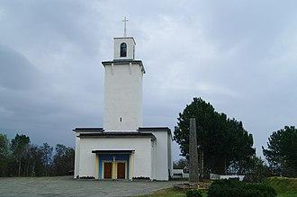 Stamsund Church - Image: Stamsund kirkested 2