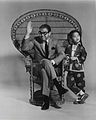 Stan Freberg, Ginny Tiu, and chair.jpg