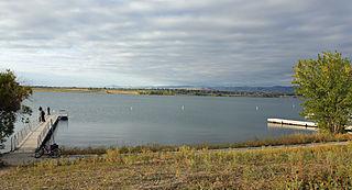 Standley Lake Lake in Westminster, Colorado