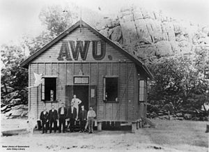Australian Workers' Union - Australian Workers' Union Hall, Chillagoe, Queensland, ca. 1915