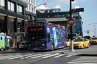 Whitehall Street Street in Manhattan, New York