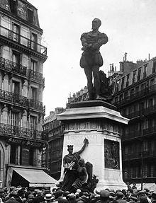 statue d'Étienne Dolet.