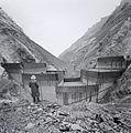 Staumauer Limmern im Bau 1960.jpg