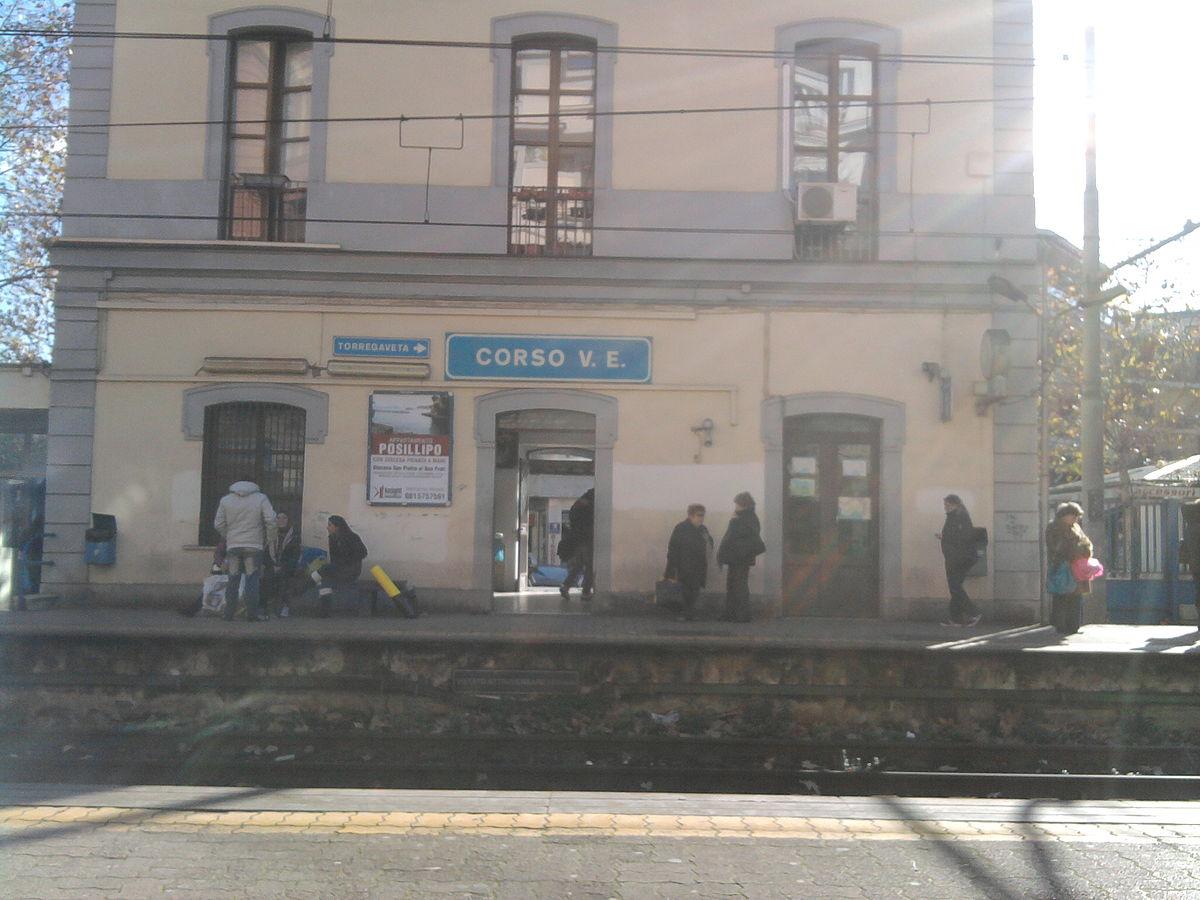 Stazione di corso vittorio emanuele wikipedia for Corso per arredatore d interni