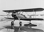 Stearman N2S-3 parked on the ramp, 11 March 1941 (80-G-465243).jpg