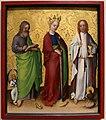 Stephan lochner, ss. mtteo, cterina d'alessandria e giovanni evangelista, 1450 ca.jpg
