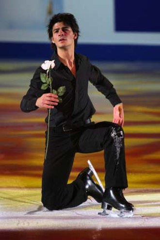 Stéphane Lambiel - Lambiel during the exhibition at the 2007-2008 Grand Prix Final.