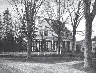 Stephen Barker House - Stephen Barker Place c 1900.