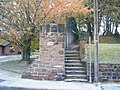 Steps at end of public footpath, Quarry Street, Woolton. - geograph.org.uk - 1556121.jpg