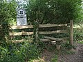 Stile following the Mottisfont Estate Footpath - geograph.org.uk - 423351.jpg