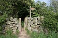 Stile on the Cleveland Way - geograph.org.uk - 440306.jpg