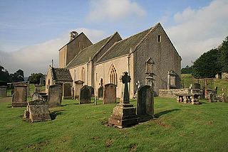 Stobo Kirk Ancient Scottish church