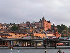 Centralbron - The southern bridge leading from Gamla stan and Riddarholmen over to Södermalm.