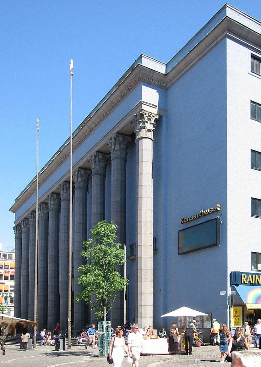 Stockholm Konserthuset 2002