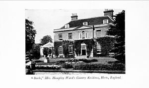 Stocks House - Stocks as it appeared at the time of Ward's residence (c.1903)