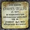 Stolperstein.Köpenick.Stellingdamm 36.Johannes Stelling.1408.jpg