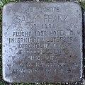 Stolperstein Goch Wiesenstraße 5 Sally Frank.jpg