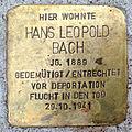 Stolperstein HL Hans Leopold Bach (1889).jpg
