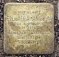 Stolperstein Hanseatenweg 10 (Hansa) Elli Abrahamsohn.jpg