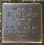 Stolperstein Munich Betty Berger.jpg