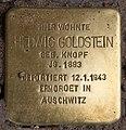 Stolperstein Pariser Str 6 (Wilmd) Hedwig Goldstein.jpg