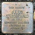 Stolperstein Sächsische Str 6 (Wilmd) Julius Steigerwald.jpg