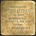 Stolperstein Salzburg, Georg Leitner (Goldgasse 12).jpg
